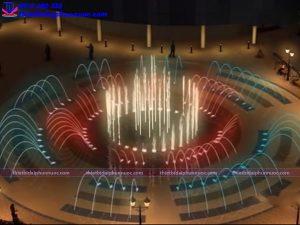 Mẫu đài phun nước 3D 4
