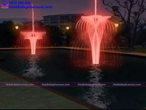 Mẫu đài phun nước 3D 40