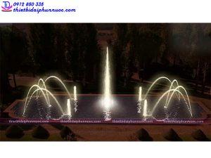 Mẫu đài phun nước 3D 42