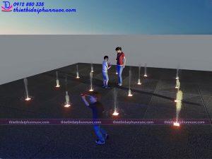 Mẫu đài phun nước 3D 8
