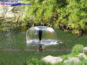 Vòi phun nước hình nấm 10