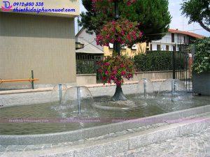Vòi phun nước hình nấm 5