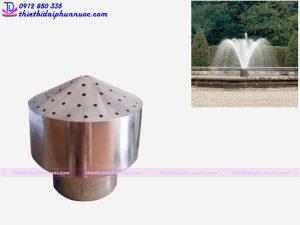 Đầu phun nước hình bông hoa 2