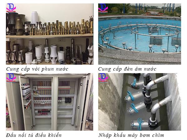 Mẫu đài phun nước 10