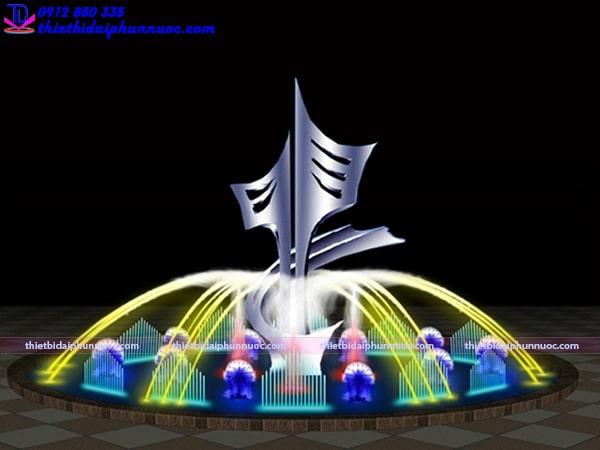 Mẫu đài phun nước D30m 4