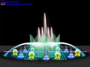 Mẫu đài phun nước trang trí D20m 4