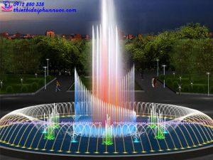 Mẫu đài phun nước tròn D22m 6