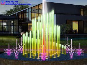 Mẫu đài phun nước tròn D22m 7