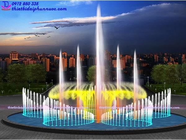 Mẫu đài phun nước tròn D25m 1