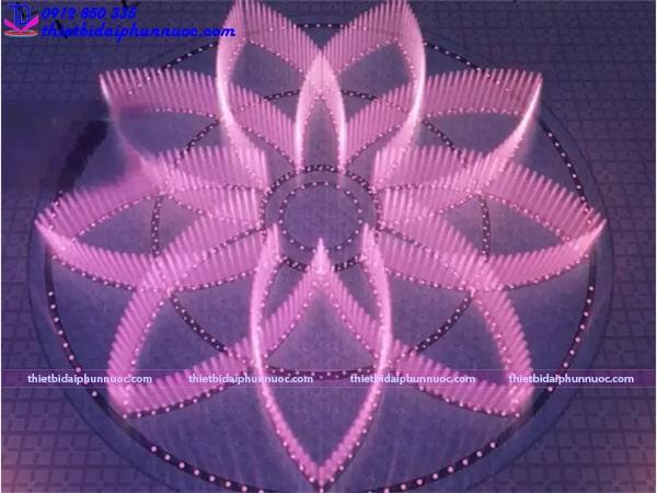 Mẫu đài phun nước bể đa giác 6