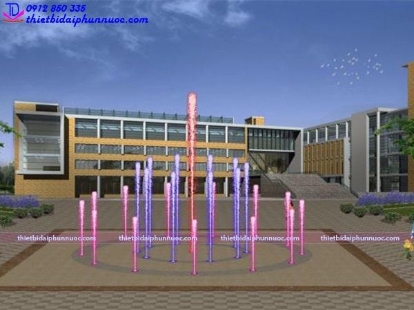 Mẫu sàn phun nước lập trình 3