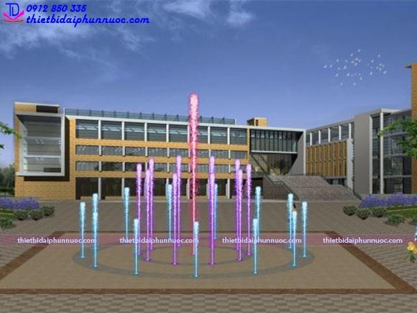 Mẫu sàn phun nước lập trình 4
