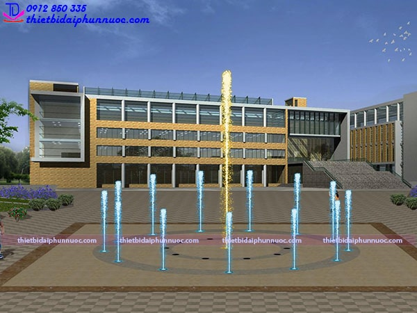 Mẫu sàn phun nước lập trình 6
