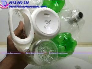 Cách làm đài phun nước bằng nhựa 4