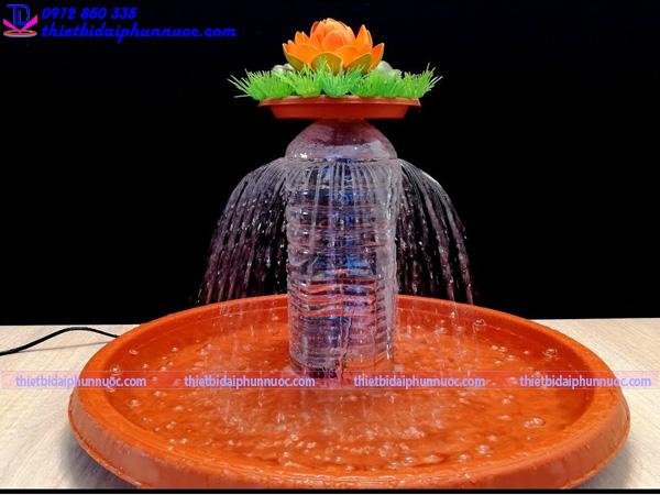 Cách làm đài phun nước bằng nhựa 5