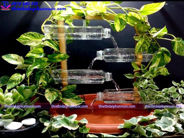 Cách làm đài phun nước bằng nhựa 6