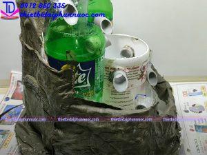 Cách làm đài phun nước bằng nhựa 7