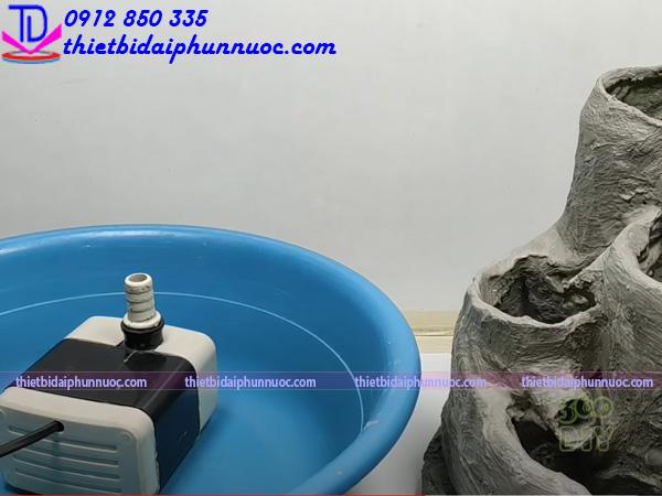 Cách làm đài phun nước bằng nhựa 9