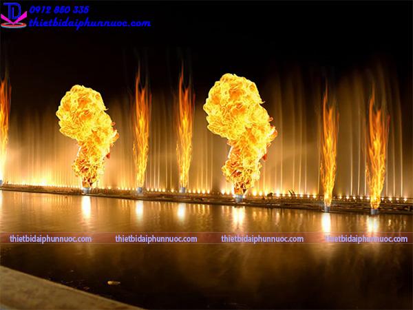 Thiết bị phun lửa 2