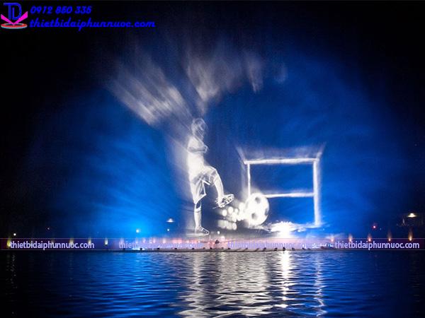 Vòi phun màn nước trình chiếu 18