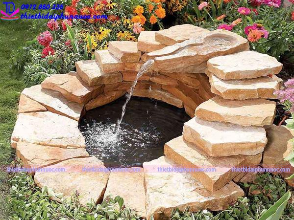 Đài phun nước tự chế 13