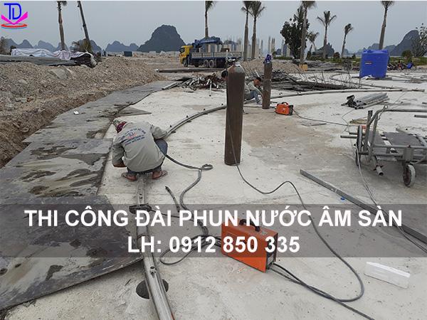 Gia công đường ống inox đài phun nước 1
