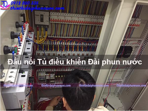 Đấu nối tủ điện điều khiển đài phun nước 1