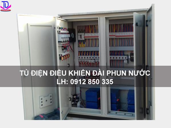 Đấu nối tủ điện điều khiển đài phun nước 2