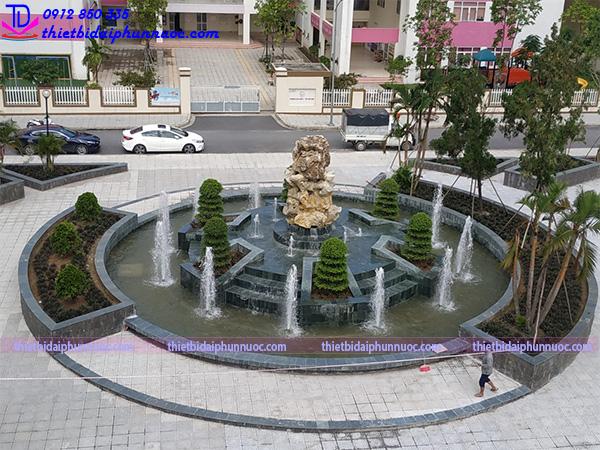 Công trình đài phun nước Phú Lãm 1