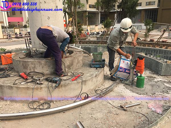 Công trình đài phun nước Phú Lãm 10