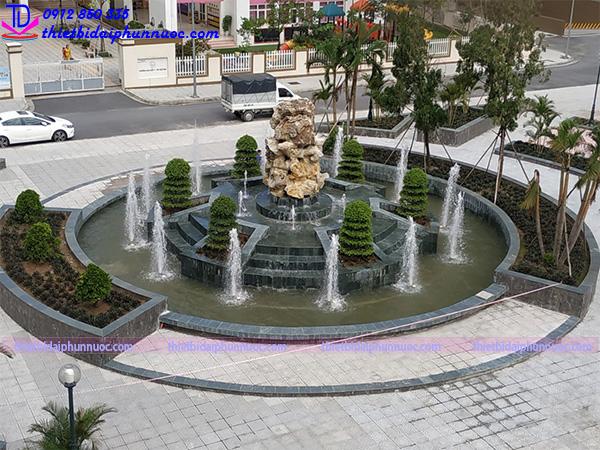 Công trình đài phun nước Phú Lãm 3