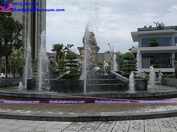 Công trình đài phun nước Phú Lãm 4