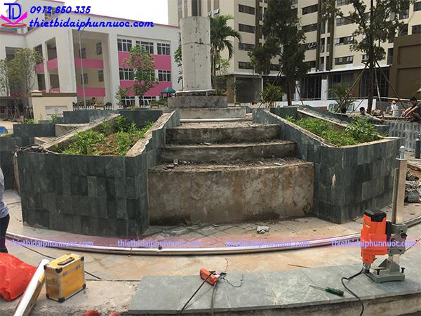 Công trình đài phun nước Phú Lãm 6