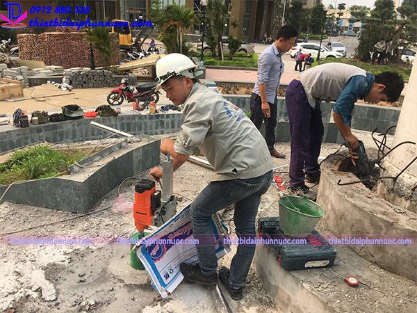 Công trình đài phun nước Phú Lãm 7