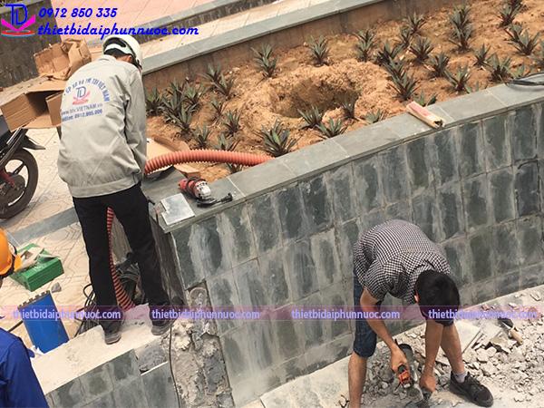 Công trình đài phun nước Phú Lãm 8