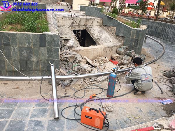 Công trình đài phun nước Phú Lãm 9
