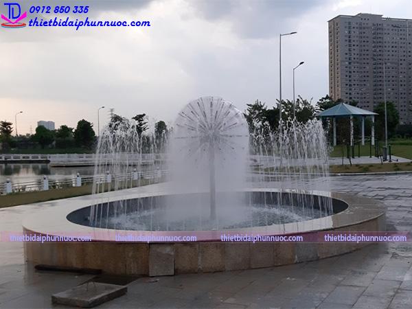 Đài phun nước bể nổi 1