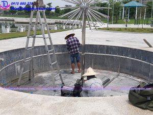 Đài phun nước bể nổi 4