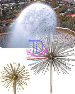 Bộ vòi phun hình cầu nước 1