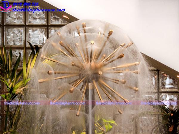 Bộ vòi phun hình cầu nước 5