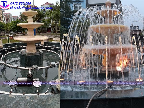 Đài phun nước vườn hoa Nguyễn Quán Quang 4