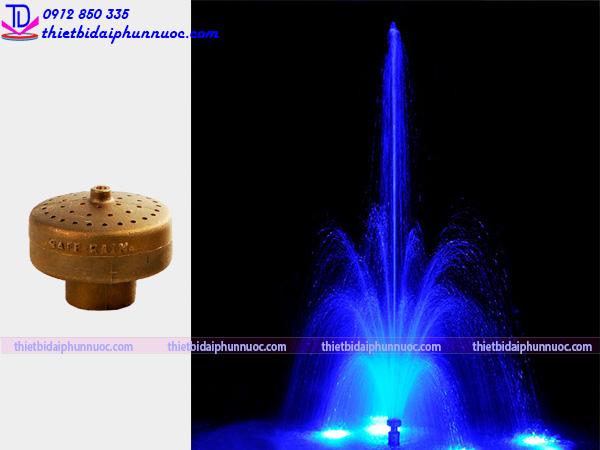Đầu phun nước hình bông hoa 6