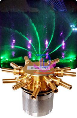 Vòi phun quay tự động tạo xoáy nước 1