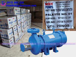 Báo giá bơm chìm đài phun nước - Máy bơm nhạc nước MBH 11