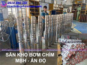 Báo giá bơm chìm đài phun nước - Máy bơm nhạc nước MBH 8