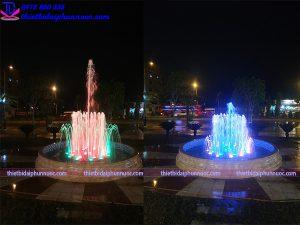 Đài phun nước trung tâm tổ chức sự kiện Hà Thanh 2