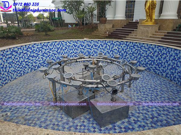 Đài phun nước trung tâm tổ chức sự kiện Hà Thanh 7