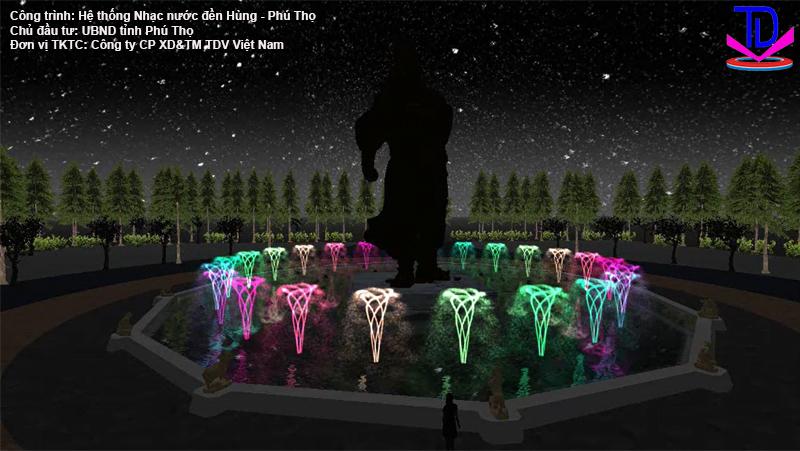 Nhạc nước đền Hùng Phú Thọ