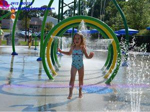 Sân chơi phun nước cho công viên 11
