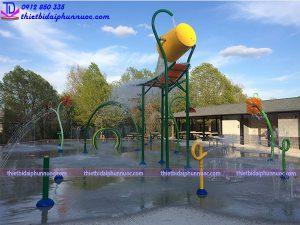 Sân chơi phun nước cho công viên 12